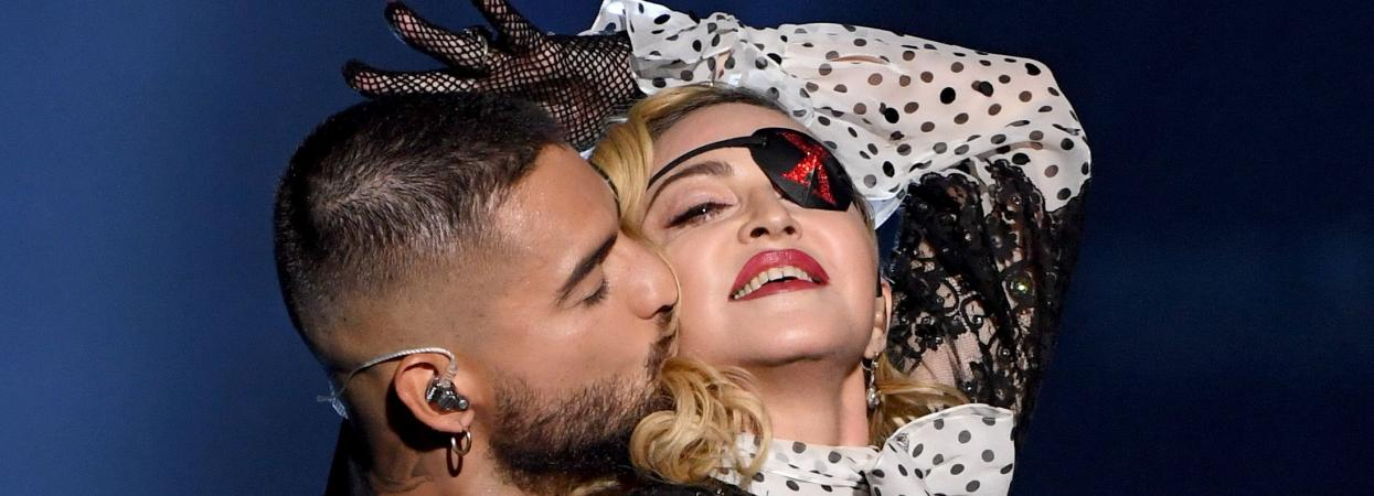 Мадонна і Малума на Billboard Music Awards