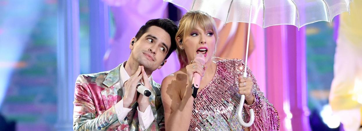 Тейлор Свіфт і Брендон Урі на Billboard Music Awards