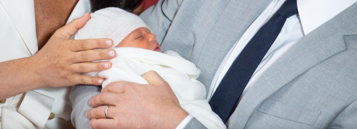 Меган Маркл і Принц Гаррі з дитиною