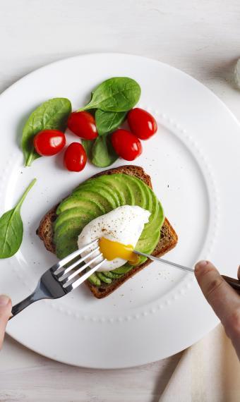 завтрак яичница