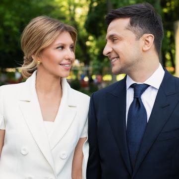 володимир  і олена зеленські, президент україни, перша леді україни