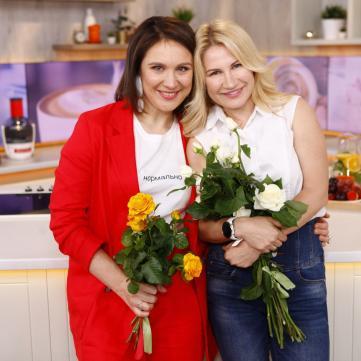 Ксенія Литвинова та Наталія Самойленко