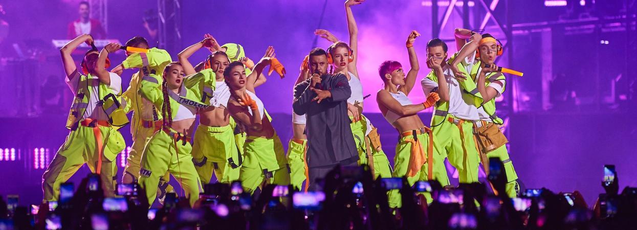 MONATIK - шоу на Олімпійському