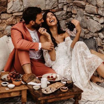 закохана пара, наречені