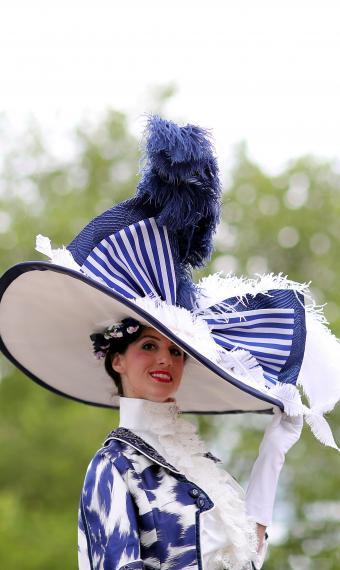 Шляпка на Royal Ascot 2019