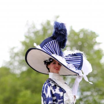 Капелюшок на Royal Ascot 2019
