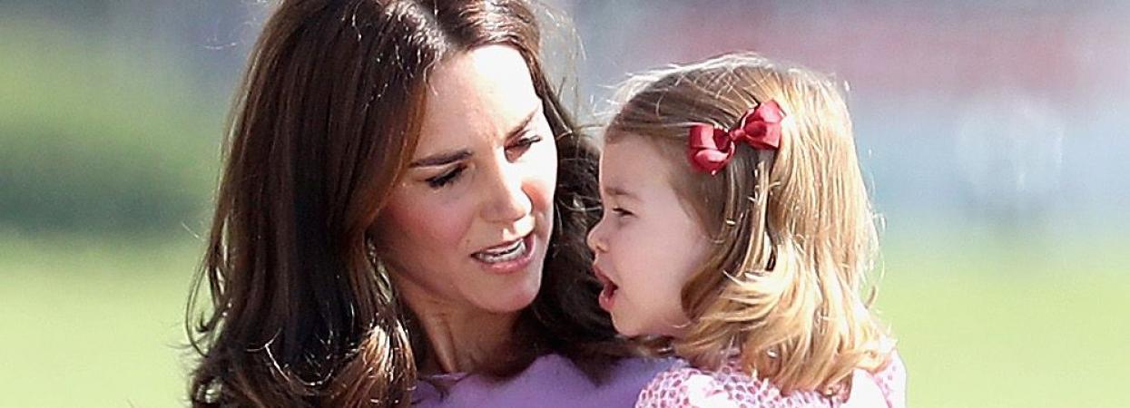 Кейт Міддлтон і принцеса Шарлотта