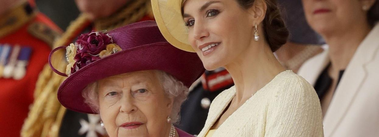 королева елизавета II и летиция