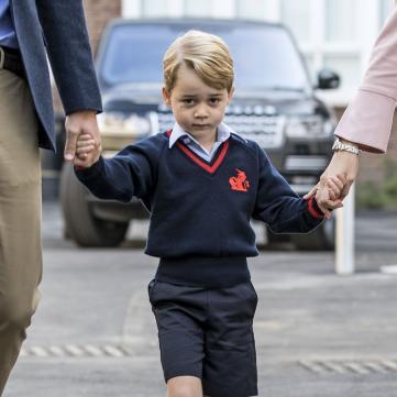 На кого більше схожий 6-річний принц Джордж?
