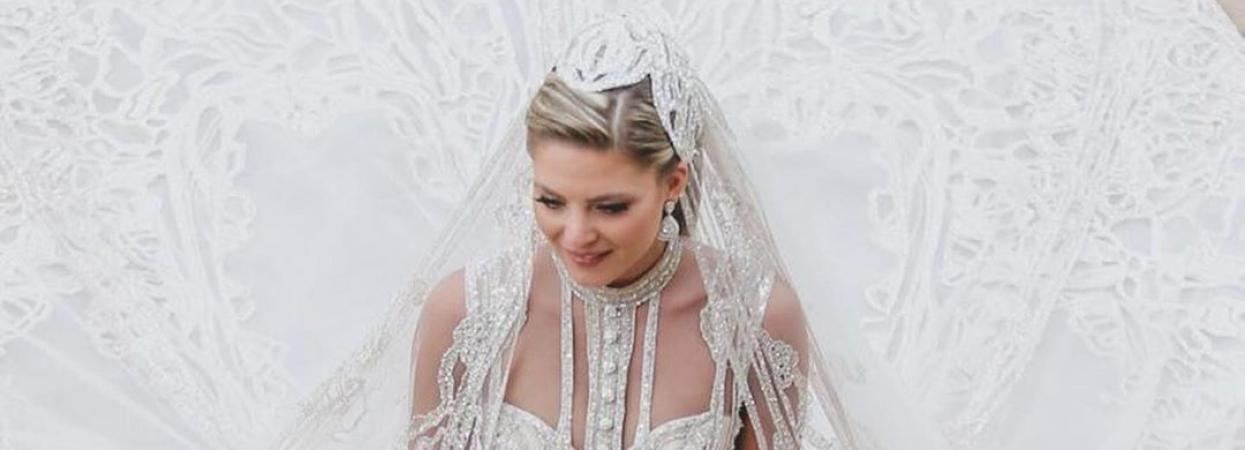 Найрозкішніше весілля року. Син дизайнера Елі Сааб одружився на Крістіні Мурад.