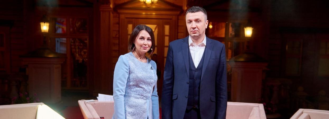 Наталія Мосейчук і Сергій Іванов в Право на владу