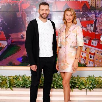 Богдан Юсипчук і Таяна - ведучі програми Життя відомих людей