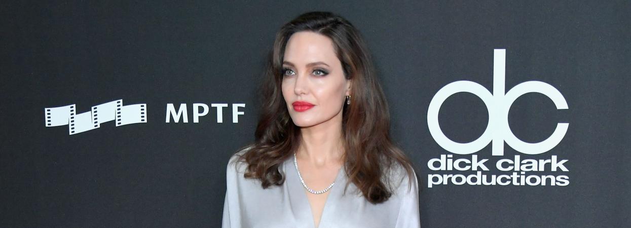 Анджелина Джоли на красной дорожке