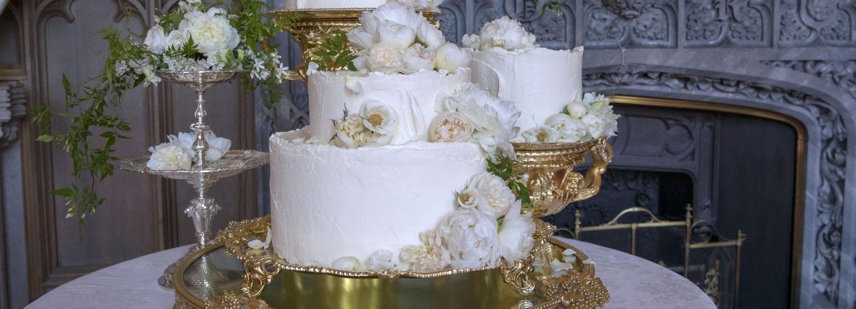 свадебный торт меган маркл