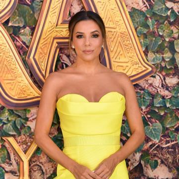 Ева Лонгория в желтом платье на премьере фильма