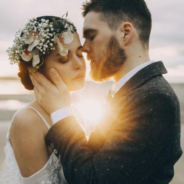 Закохана пара молодят
