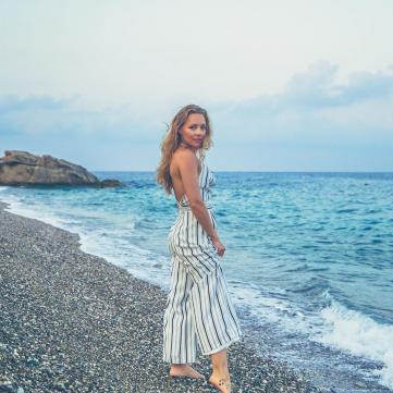 танцівниця олена шоптенко відпочиває у Туреччині