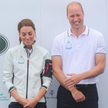 Кейт Міддлтон і принц Вільям на королівській регаті