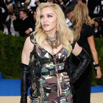 Королева поп-музики Мадонна.