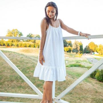 Илона Гвоздева заинтриговала образом в свадебном платье (фото)