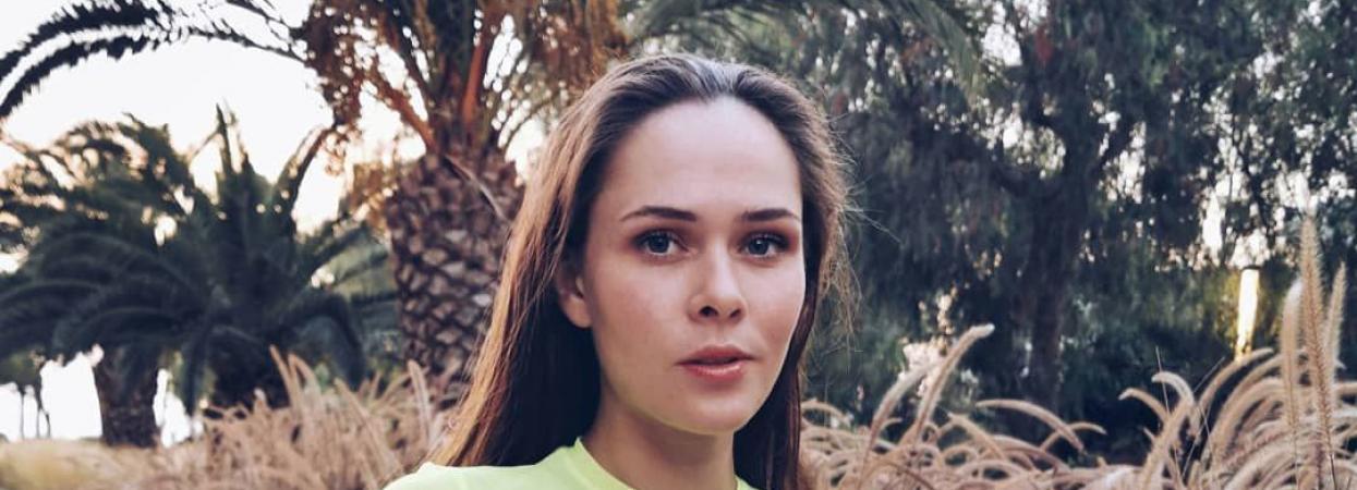 Юлия Санина на отдыхе