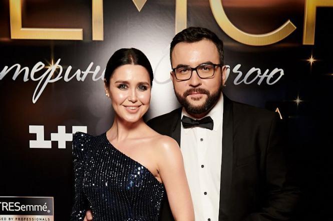 Ведучі 1+1 Руслан Сенічкін і Людмила Барбір
