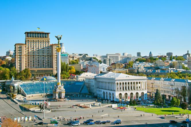 Площадь Независимости Киев