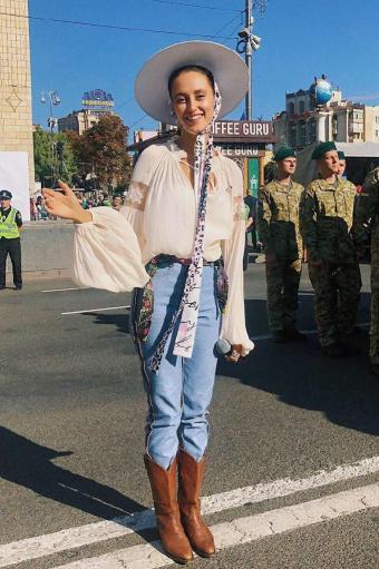 Аліна Паш на Ході Гідності