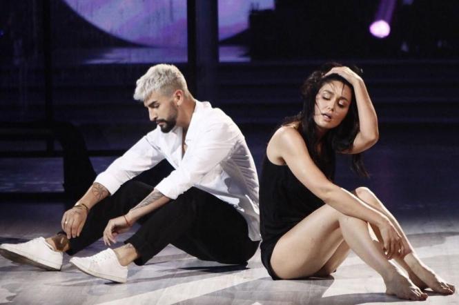 Людмила Барбір і Дмитро Жук на танцях з зірками