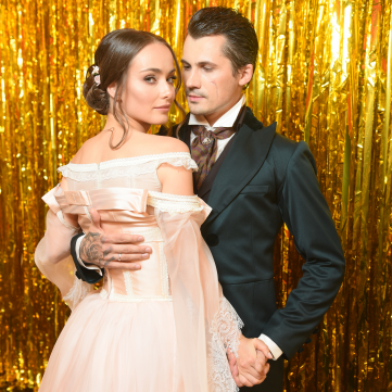 Женя Кот і Ксенія Мішина на танцях з зірками