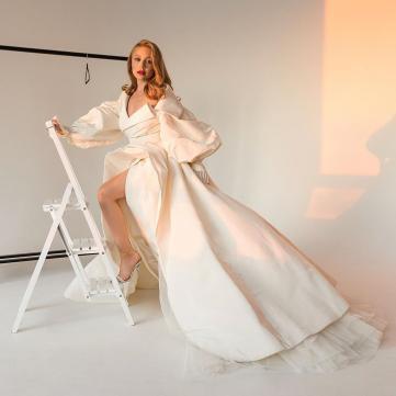 тіна кароль у пишній білій сукні фото