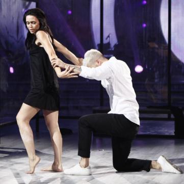 Людмила Барбір на Танцях з зірками