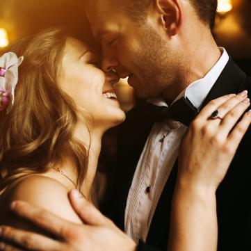 влюбленная пара свадьба фото