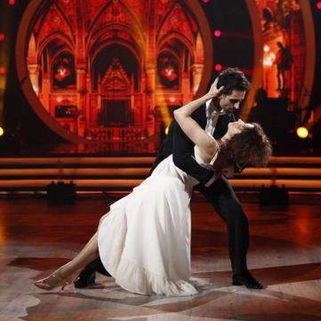 Надежда Матвеева на танцах со звездами