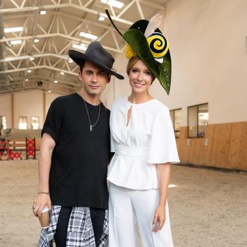 Катя Осадча і Дан Балан на Українському тижні моді
