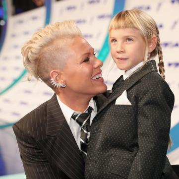 Співачка P!nk з донькою Віллоу.