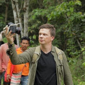 Дмитрий Комаров в Бразилии