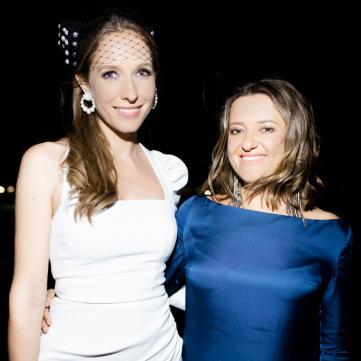 Катя Осадча і Наталія Могилевська вийшли у світ в однакових сукнях