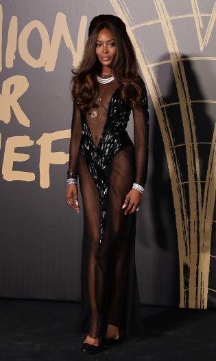 Наомі Кембелл на Лондонському тижні моди.