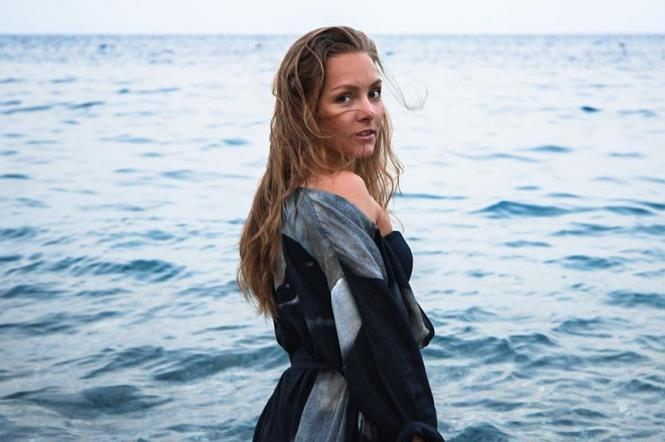 Олена Шоптенко в купальнику