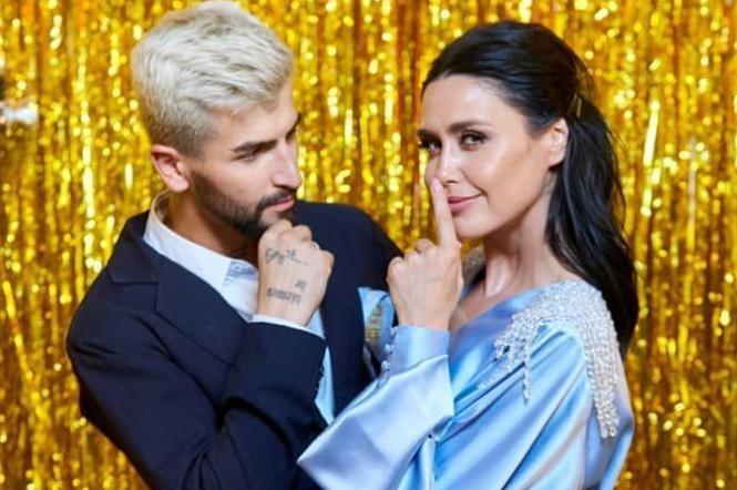 Людмила Барбир и Дмитрий Жук на Танцах со звездами