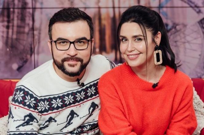 Людмила Барбір і Руслан Сенічкін