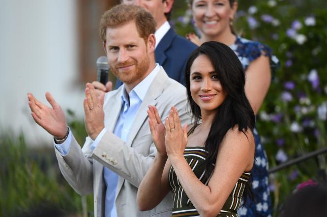 Меган Маркл і принц Гаррі в Африці