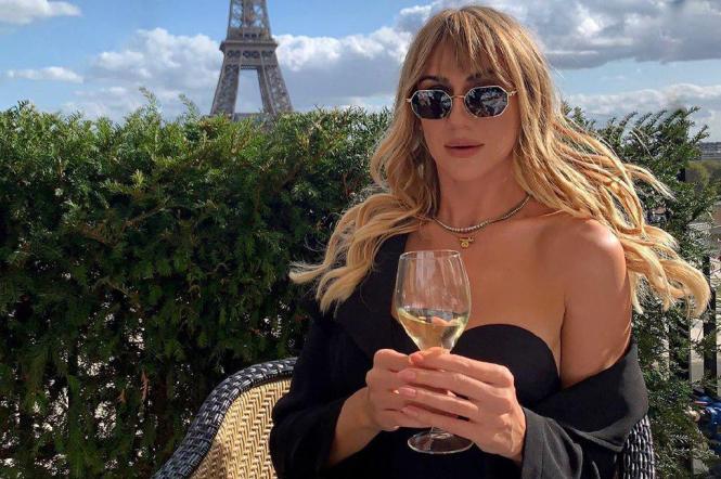 Леся Никитюк в париже