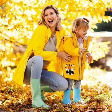 Анита Луценко с дочкой
