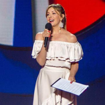 Олена Кравець на сцені