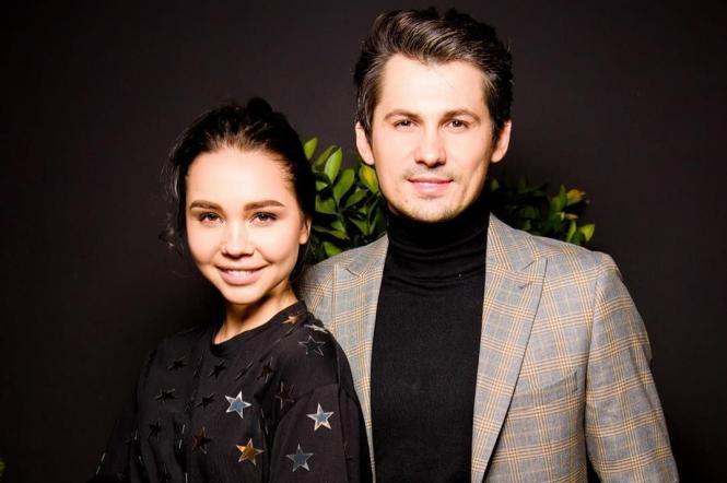Женя Кот із дружиною