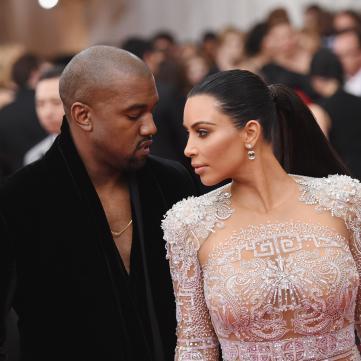 Муж Ким Кардашян потратил миллион долларов ей на подарок