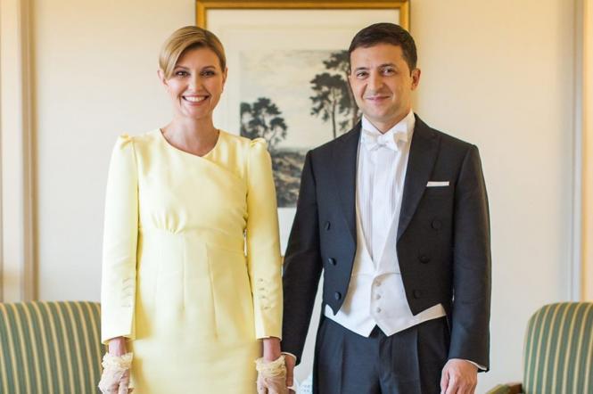 Елена и Владимир Зеленськие