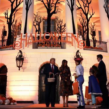 Белый Дом на Хэллоуин